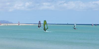 Windsurfen auf Fuerteventura