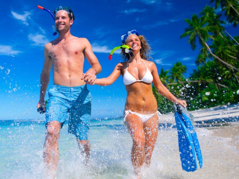 Malediven Paar