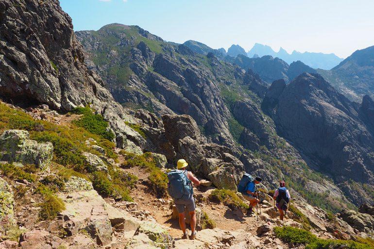 Korsika Wandern auf dem GR20