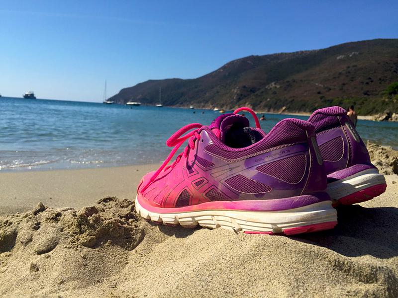Laufen am Meer