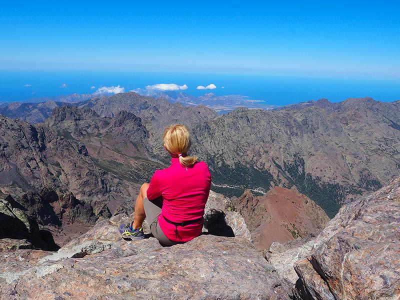 Monte Cinto - Wandern auf Korsika auf dem GR20
